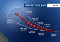 Hurricane Sam forms, too early to determine if it will impact US