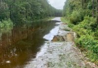 Inches of rain cause flooding problems around southeastern NC