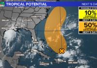 Tracking Nicholas, now a Hurricane, plus chances of development in the Atlantic