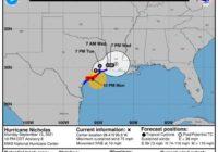 Hurricane Nicholas moving toward Texas landfall: Track the storm, spaghetti models