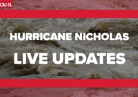 Tropical Storm Nicholas updates: Flash Flood Warning for multiple counties Tuesday morning