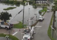 CPS Energy workers travel to Houston to help with Hurricane Nicholas recovery