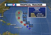 Hurricane Sam will pump larger waves, rip currents along NC coast late week