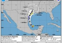 Tropical Storm Nicholas: How much rain, flooding is expected for South Texas?