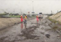 High-water locations in Houston area due to Tropical Storm Nicholas; 225 cleanup underway