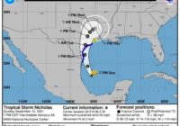 Tropical Storm Nicholas could cause life-threatening storm surge; see latest forecast here
