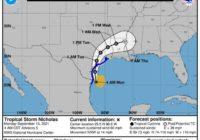 Tropical Storm Nicholas threatens Texas: Follow the storm, spaghetti models