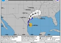 Tropical Storm Nicholas moving toward Texas landfall: Track the storm, spaghetti models