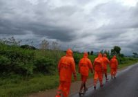 Cyclone floods parts of India's east coast, knocks out power