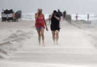 Nicholas, now tropical storm, dumps rain along Gulf Coast