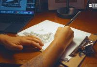 Drawing Hope: Illustrator volunteers to sketch homes lost in California wildfires