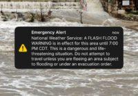 NWS sends flash flood emergency alert to San Antonio area