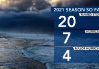 Hurricane season ends Nov. 30. Here's an update