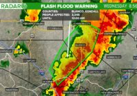 Flash Flood Warning in effect for San Antonio area as storms move across South Texas | Track the rain