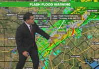 Flash Flood Warning continues for several counties as storms slowly roll out of south-central Texas | Track the rain